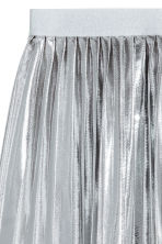 Shimmering metallic skirt - Silver - Kids | H&M 3