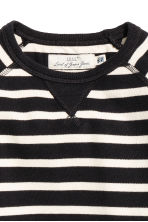 棉質網眼上衣 - Black/White/Striped - Kids | H&M 3