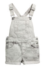 吊帶短褲 - Grey washed out - Kids | H&M 2