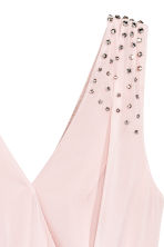 Crêpe chiffon dress - Light pink - Ladies | H&M 3