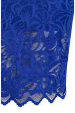 Fitted lace skirt - Cornflower blue - Ladies | H&M 3