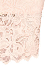 Fitted lace skirt - Powder pink - Ladies | H&M 3