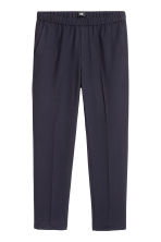 Pantaloni eleganti Slim fit - Blu scuro - UOMO | H&M IT 2