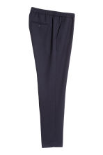 Pantaloni eleganti Slim fit - Blu scuro - UOMO | H&M IT 3