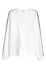 Sports top - White - Men | H&M 2