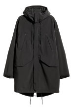 Outdoor parka - Black - Men | H&M GB 2