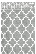 Patterned cotton rug - Grey - Home All | H&M CN 2