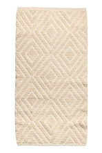 Wool-blend rug - Natural white - Home All | H&M CN 1