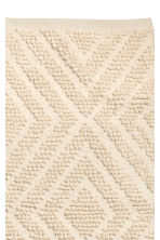 Wool-blend rug - Natural white - Home All | H&M CN 2