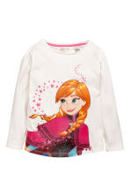 Lot de 2 tops - Rose/La Reine des neiges - ENFANT | H&M FR 3