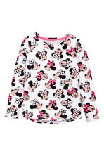 2-pack long-sleeved tops - Grey/Minnie Mouse - Kids | H&M 3
