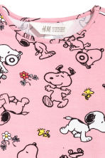 Abito in jersey con stampa - Rosa vintage/Snoopy - BAMBINO | H&M IT 3