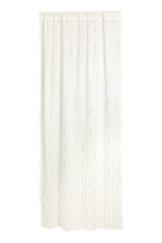 Cotton curtain length - White/Gold - Home All | H&M CN 1