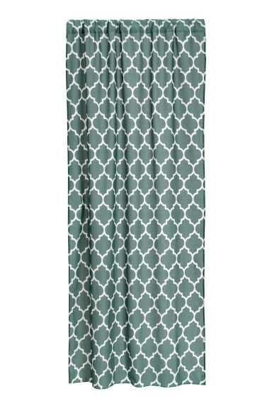 2-pack curtain lengths - Khaki green - Home All | H&M CN 1