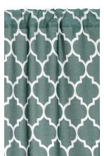 2-pack curtain lengths - Khaki green - Home All | H&M CN 2