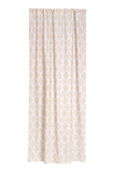 2-pack curtain lengths - Light beige - Home All | H&M CN 1
