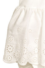 Embroidered cotton dress - White - Kids | H&M CN 3