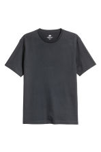 3-pack T-shirts Regular fit - Dark grey/Grey marl/Grey-Green - Men | H&M 3