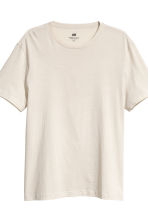 T-shirt Regular fit, 3 pz - Beige chiaro - UOMO | H&M IT 5