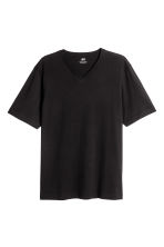 3 T-shirts - Regular fit - Zwart - HEREN | H&M BE 3