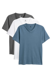 3 T-shirts - Regular fit