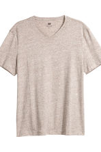 3-pack t-shirts Regular fit - Beigemelerad - Men | H&M FI 3