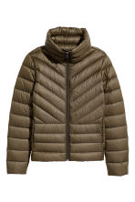 Lightweight down jacket - Khaki green - Ladies | H&M CN 2
