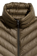 Lightweight down jacket - Khaki green - Ladies | H&M CN 3