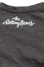 Printed T-shirt - Dark grey/Rolling Stones - Kids | H&M CN 2