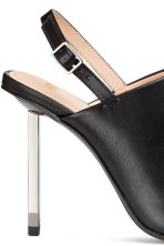 Slingbacks - Black - Ladies | H&M CN 4