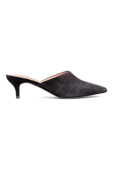 Slip in-pumps i mocka