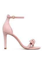 Suede sandals - Powder pink - Ladies | H&M 2