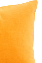 Velvet cushion cover - Mustard yellow - Home All | H&M CN 2