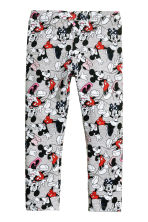 Jersey leggings - Grey/Mickey Mouse -  | H&M 2