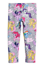 Jersey leggings - Dark grey/My Little Pony - Kids | H&M CN 1