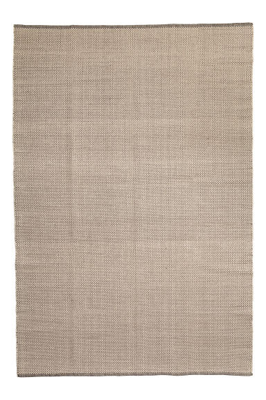 Grand tapis en coton - Ecru - Home All | H&M CA 1