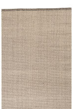 Grand tapis en coton - Ecru - Home All | H&M CA 2