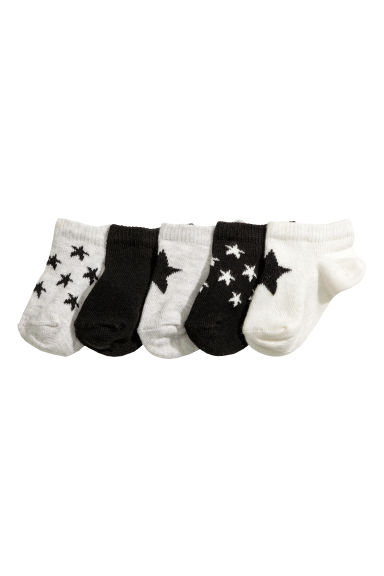 5-pack socks - Black - Kids | H&M 1
