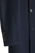 Cashmere-blend coat - Dark blue - Men | H&M 3