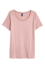 Modal-blend T-shirt - Light pink - Men | H&M 2
