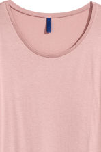 Modal-blend T-shirt - Light pink - Men | H&M 3