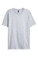 Long T-shirt - Grey marl - Men | H&M CN 2