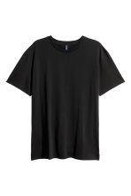 Long T-shirt - Black - Men | H&M 2
