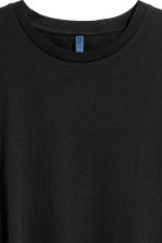 Long T-shirt - Black - Men | H&M 3