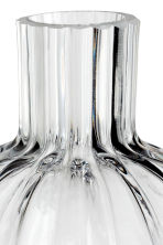 Clear glass mini vase - Clear glass - Home All | H&M CN 2