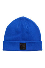 Knitted hat - Bright blue - Men | H&M IE 1