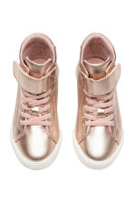 Hi-top trainers - Rose gold - Kids | H&M CA 2