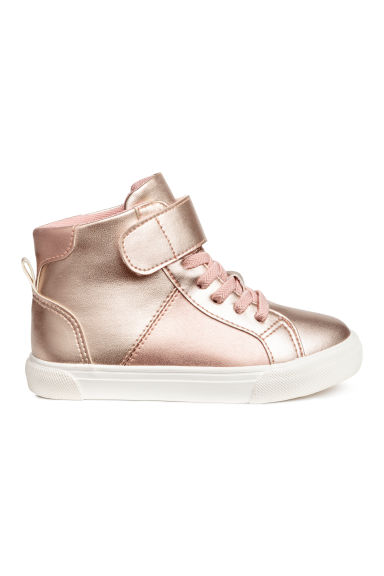 Hi-top trainers - Rose gold - Kids | H&M 1