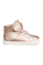 Hi-top trainers - Rose gold - Kids | H&M CA 1