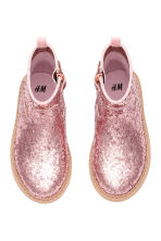 Glittery boots - Pink -  | H&M 2